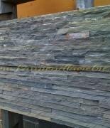 panel łupek stalowy drobny 15x60