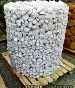 Otoczak biały Carrara  60-120mm