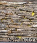 Gnejs szaro- brązowy cięty