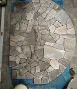 Kwarcyt grafitowo-brązowy