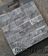 Kwarcyt grafit, płytka 5x25cm