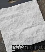 Marmur śnieżnobiały, płytka 5x25cm