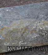 Kwarcyt grafit-brąz płyta 30 cm, różne długości