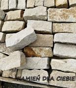 Palisada granit żółty