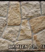 piaskowiec żółto-biały cięty płaski