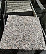 Granit  czerwony płomieniowany 60x60 cm